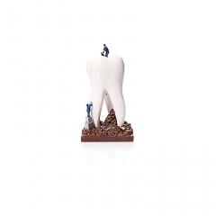 建筑大牙牙科诊所摆件
