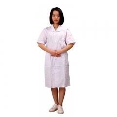 医生服 女医生服  短袖 衣领按扣式 单件
