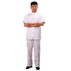 【促销】牙医帮定制 男医生服 短袖中山装 套装