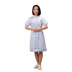 医生服 女护士服  短袖立领打褶护士服