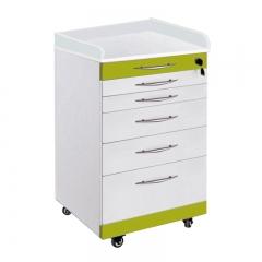 雅加固 移动医疗柜  五轴(带两格盘)