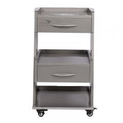 雅加固 医用移动柜双层带电源GD070