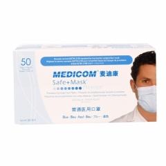 麦迪康/MEDICOM 口罩三层 (耳挂型) 10盒