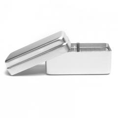 瑞尔德源/RRD 72孔 双芯消毒盒 银色