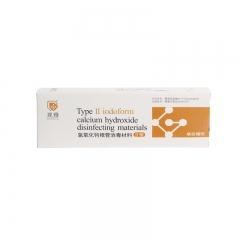 观雅 氢氧化钙根管消毒材料Ⅱ型(碘仿糊剂)2g