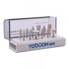 道邦/TOBOOM 玻璃陶瓷修整、高亮度抛光套装 RA 1212 D(口内用)