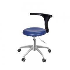 海瑞斯 医生椅/护士椅(扶手款)PU皮/塑钢底座/  HS-2 天空蓝