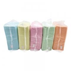 麦迪康/MEDICOM 袋装纸围巾 彩虹5色装 1包 颜色随机