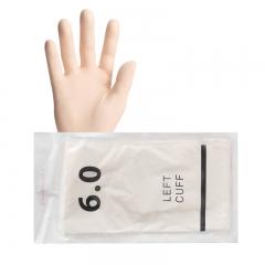 汉瑞祥/Henry Schein  一次性使用灭菌橡胶外科手套(50双/盒) 6.0 (有粉)XS码