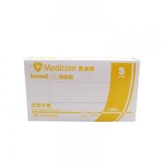 麦迪康/MEDICOM  一次性检查手套PVC (无粉) S码