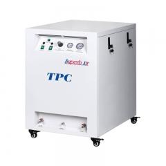 TPC 带消音箱式空压机 一拖二(DC502SC)