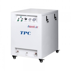 TPC 带消音箱式空压机 一拖八(DC704SC)