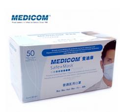 麦迪康/MEDICOM 口罩三层 (耳挂型)